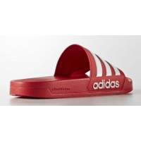 Adidas Cloudfoam Adilette Slide red