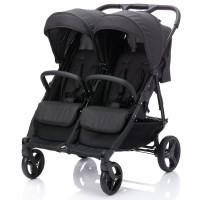 Baby Plus Zwillingssportwagen Gemelli Anthrazit