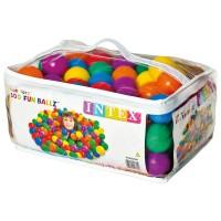 Intex Fun Balls 100 Stück bunt 6,5 cm
