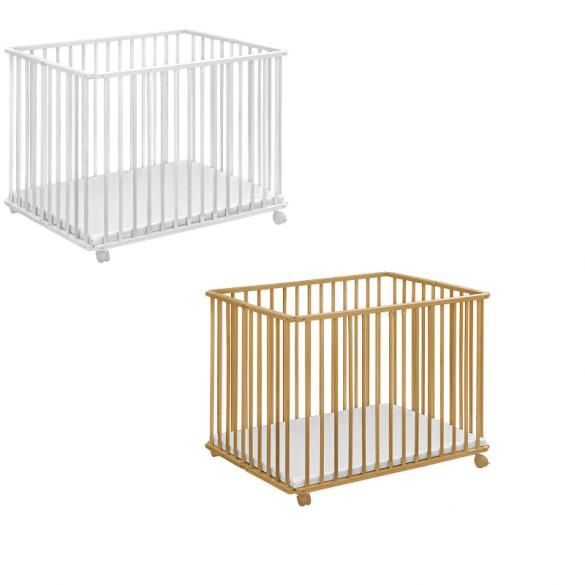 Baby Plus Holzlaufgitter Ludo klappbar