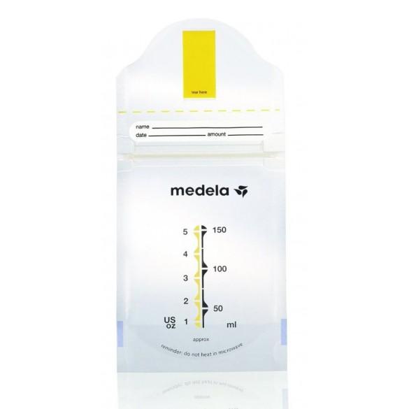 Medela Milchbeutel Pump and Save Steril (20 Stück)