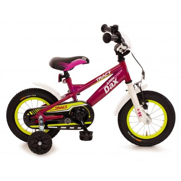 Bachtenkirch Fahrrad 12,5 Zoll Little Dax Tracy fuchsia pink weiss
