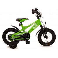 Bachtenkirch Fahrrad Little Dax Timmy 12,5 Zoll grün schwarz