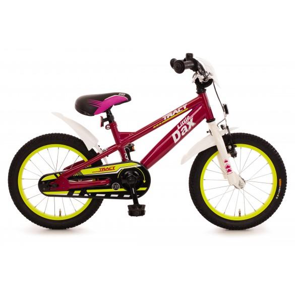 Bachtenkirch Fahrrad 16 Zoll Little Dax Tracy fuchsia pink weiss