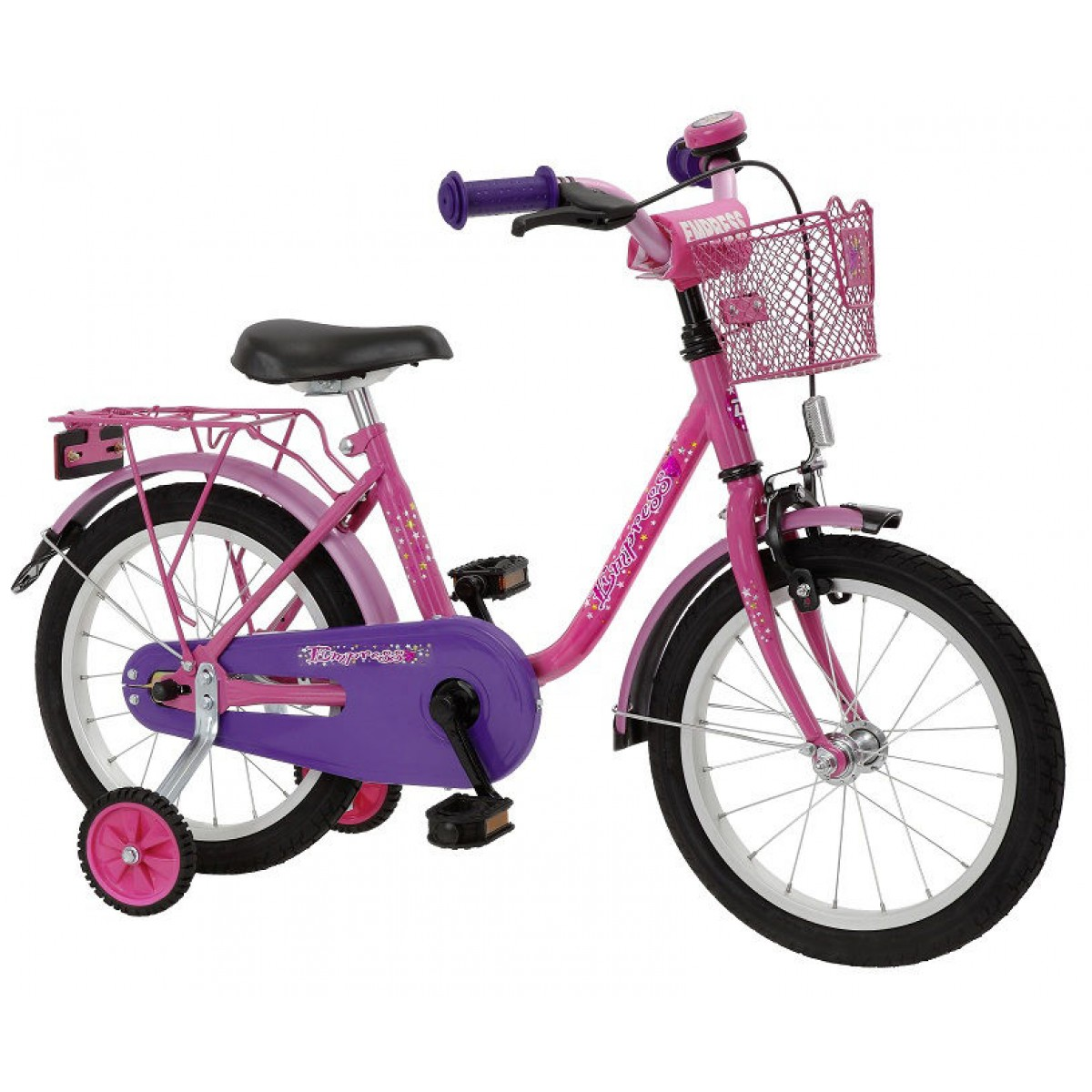 bachtenkirch kinderfahrrad 18 zoll empress pink lila. Black Bedroom Furniture Sets. Home Design Ideas