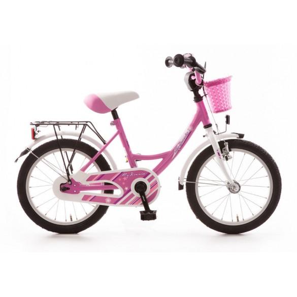 Bachtenkirch Kinderfahrrad 16 Zoll My Bonnie pink weiß