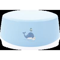 bébéjou Trittschemel Blau Wal