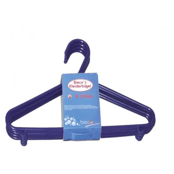 Kinder Kleiderbügel blau