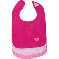 Baby Lätzchen 4er Set pink