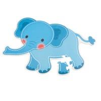 Puzzlematte Elefant Bieco