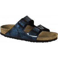 Birkenstock Arizona Weichfußbett Iride Strong Blue Damen