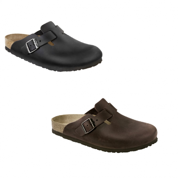 Birkenstock Boston Nubuk normal
