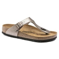 Birkenstock Gizeh Birko-Flor graceful taupe normal