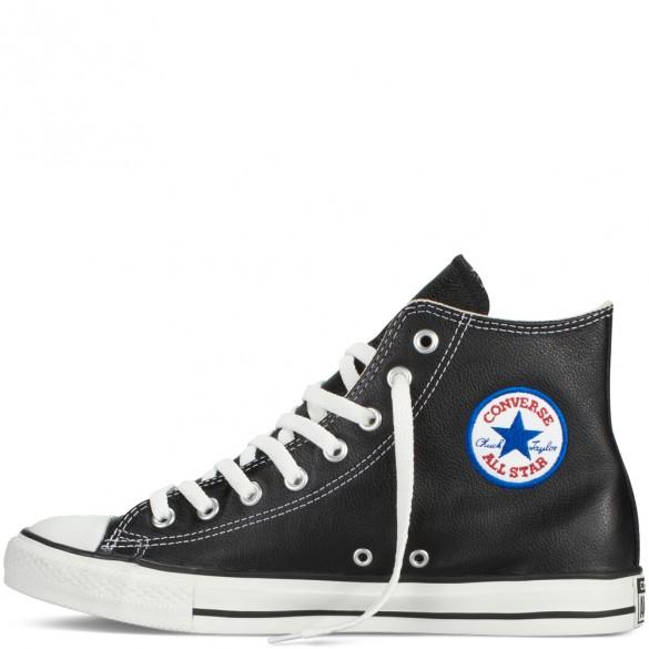 Converse Chucks Taylor All Star Leder black 132170C