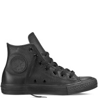 Converse Chuck Taylor All Star Basic Leather Hi black 135251