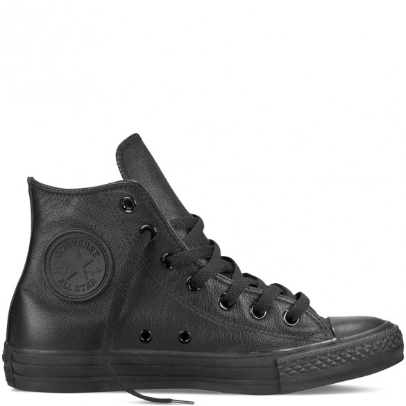 Converse Chuck Taylor All Star Basic Leather Hi black 135251