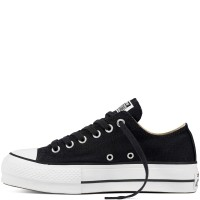 Chuck Taylor All Star Lift Canvas Low Top Black