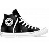 Converse Chuck Allstar High Classic black white/white 163183C