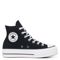 Converse Lift Chucks Taylor All Star High Damen Schwarz