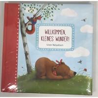 Babyalbum Wilkommen kleines Wunder Coppenrath