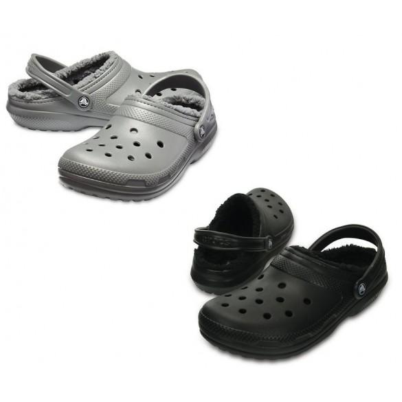 Crocs Classic Fuzz-Lined Clog