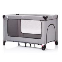 Fillikid Reisebett Standard Melange grau 120x60 cm