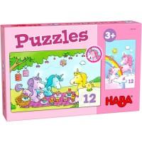 Haba Puzzles Einhorn Glitzerglück – Rosalie & Friends