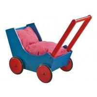 Haba Puppenwagen Blau / Rot