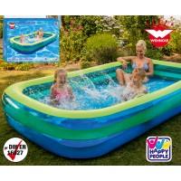 Happy People Jumbo Pool 305x183x50 cm