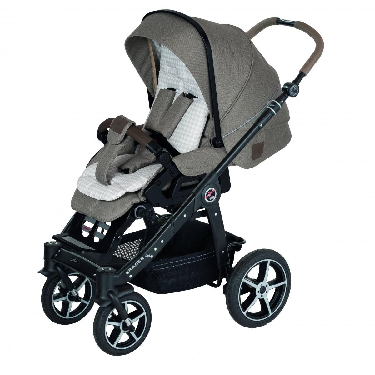 Puppen & Zubehör Hartan Kombi-Puppenwagen mit Softtragetasche Kinderwagen