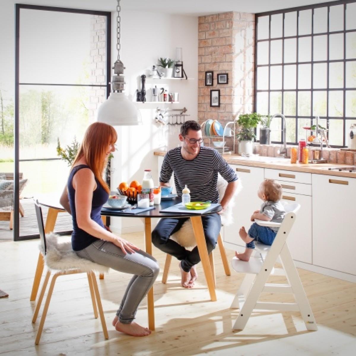 hauck hochstuhl alpha natur. Black Bedroom Furniture Sets. Home Design Ideas