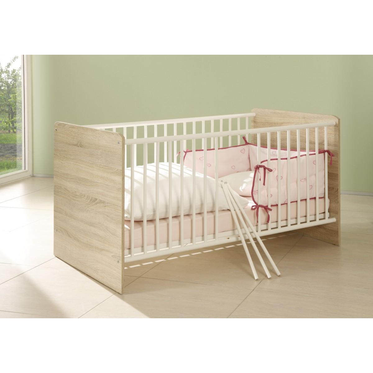babyzimmer wiki 3 teilig eiche sonoma. Black Bedroom Furniture Sets. Home Design Ideas