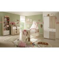 Babyzimmer Wiki 3 teilig Eiche Sonoma