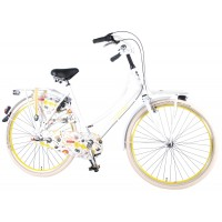 SALUTONI Urban Transportfahrrad Cartoon 28 Zoll 56 cm Shimano Nexus 3 Gang