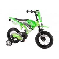 Volare Motorbike Kinderfahrrad grün 12 Zoll