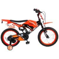 Volare Motorbike Kinderfahrrad 16 Zoll mit zwei Handbremsen