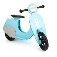 Small foot Laufrad Motorroller Bella Italia blau