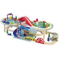 Legler Holzeisenbahn mehrstöckig