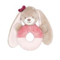 Greifling Kaninchen Rosa Nattou