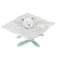 Kuscheltuch Schneeleopard Nattou