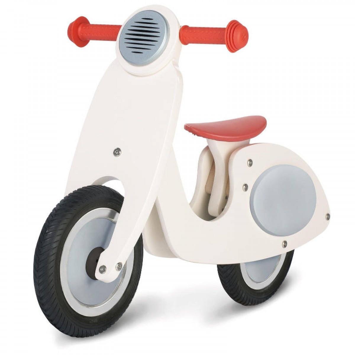 Kinderfahrzeuge Pinolino Laufrad Vespa Wanda 51cm weiß höhenverstellbar 239414