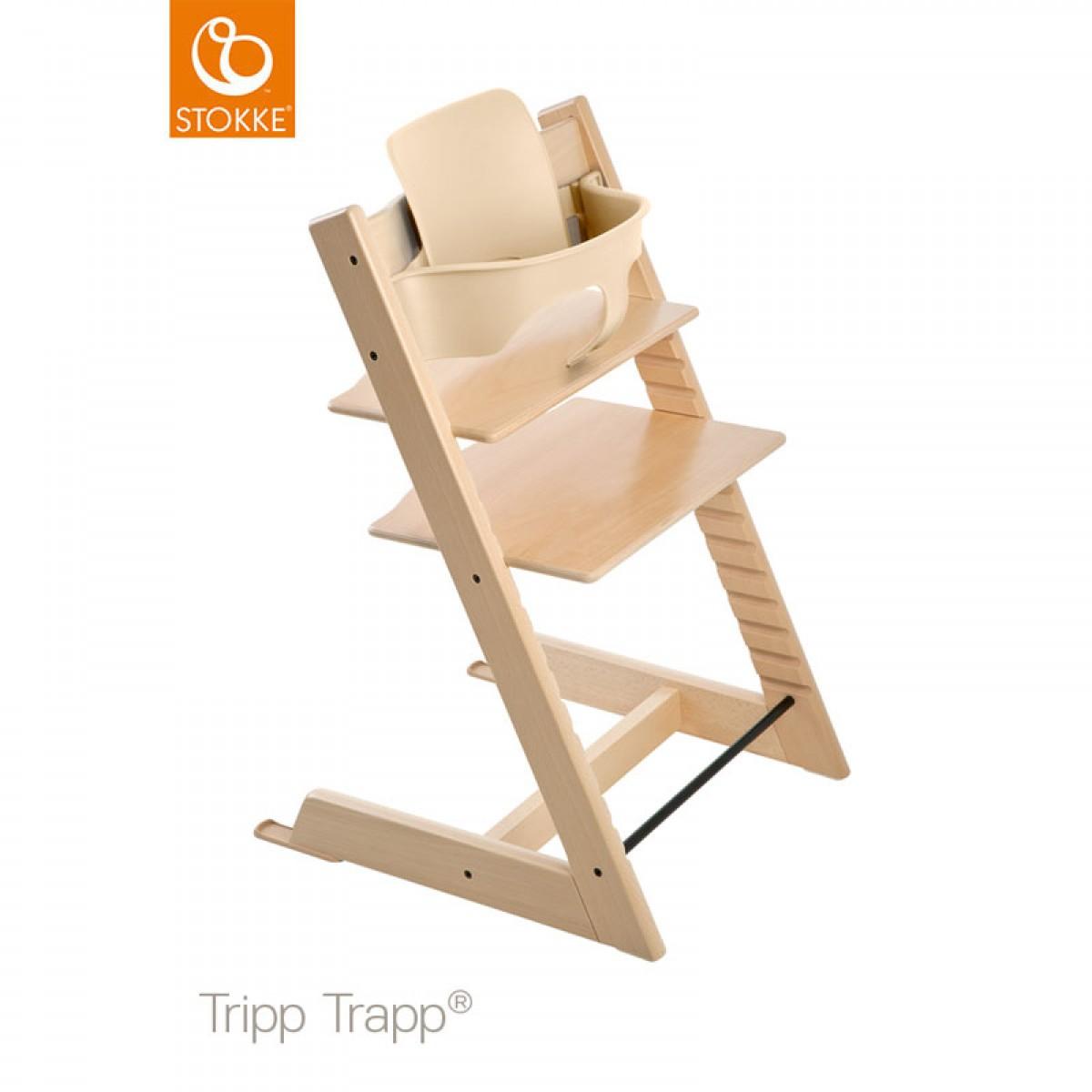 stokke tripp trapp mit babyset. Black Bedroom Furniture Sets. Home Design Ideas
