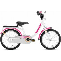 Puky Fahrrad Z 6 Edition weiß/pink / 16 Zoll