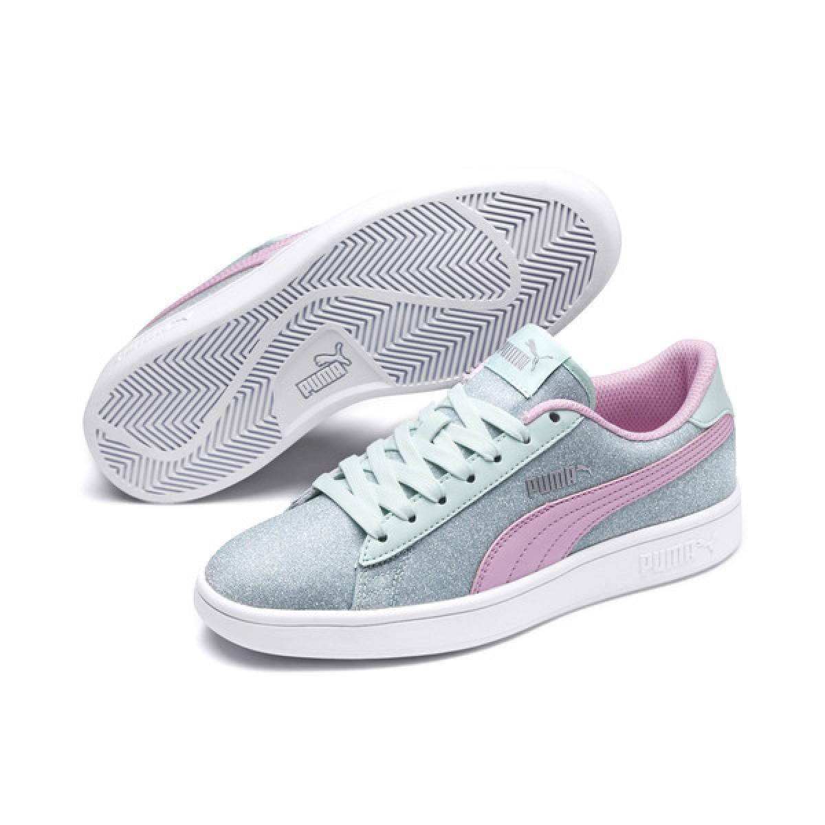 Puma Smash v2 Glitz Glam JR Sneakers