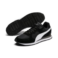 Puma Vista Black-White-Charcoal Gray