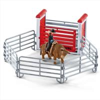 Schleich Farm World 41419 Bull riding mit Cowboy