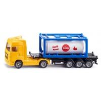 Siku LKW mit Tankcontainer