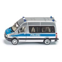 Siku Polizei-Mannschaftswagen