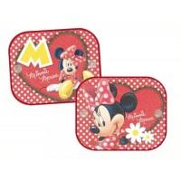 Auto Sonnenschutz Minnie Mouse 2er Set