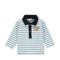 Steiff Baby Poloshirt Langarm faience